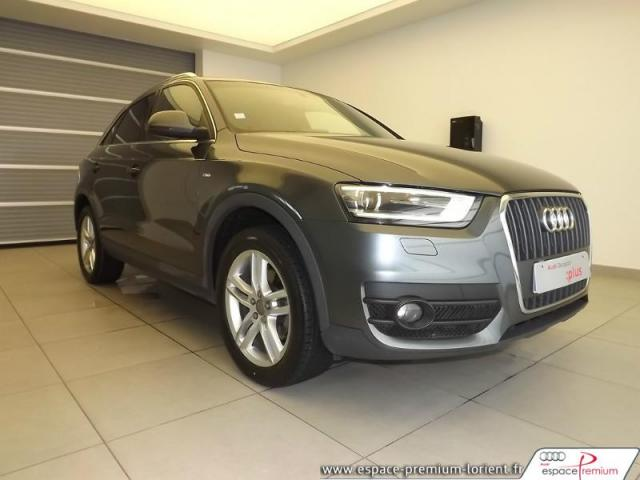 voiture occasion audi q3 2 0 tdi 140ch s line 2013 diesel 56600 lanester morbihan votreautofacile. Black Bedroom Furniture Sets. Home Design Ideas