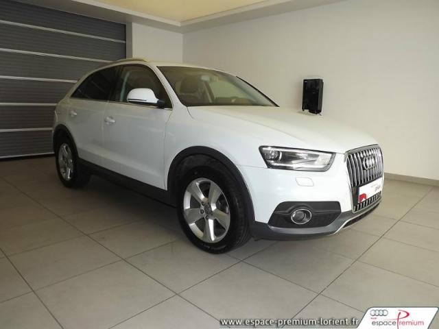 voiture occasion audi q3 2 0 tdi 140ch urban cross 2014 diesel 56600 lanester morbihan. Black Bedroom Furniture Sets. Home Design Ideas