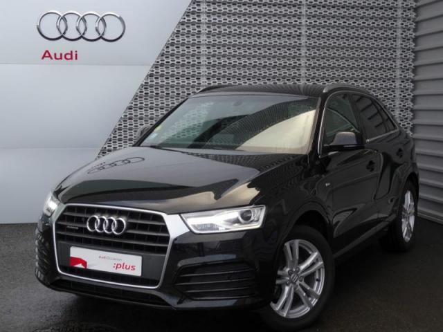 voiture occasion audi q3 2 0 tdi 150ch s line quattro 2017 diesel 28630 nogent le phaye eure et. Black Bedroom Furniture Sets. Home Design Ideas