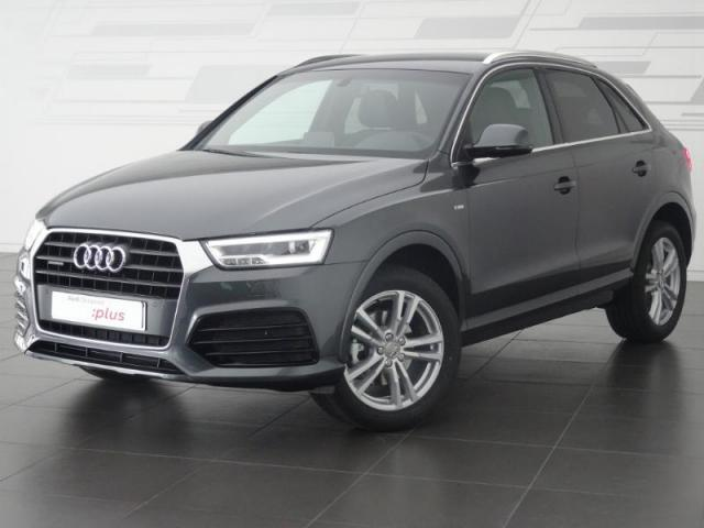 voiture occasion audi q3 2 0 tdi 150ch s line quattro s. Black Bedroom Furniture Sets. Home Design Ideas
