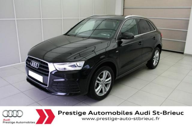 Voiture occasion audi q3 2 0 tdi 150ch s line quattro s for Garage automobile saint brieuc