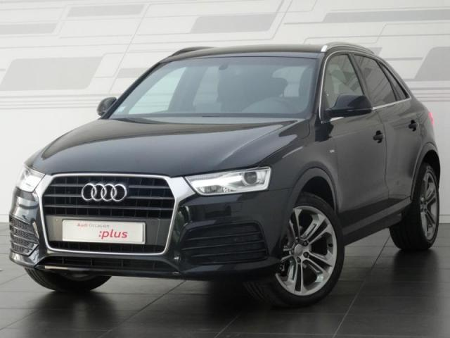 voiture occasion audi q3 2 0 tdi 150ch s line s tronic 7. Black Bedroom Furniture Sets. Home Design Ideas