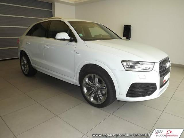 voiture occasion audi q3 2 0 tdi 150ch s line s tronic 7 2016 diesel 56600 lanester morbihan. Black Bedroom Furniture Sets. Home Design Ideas