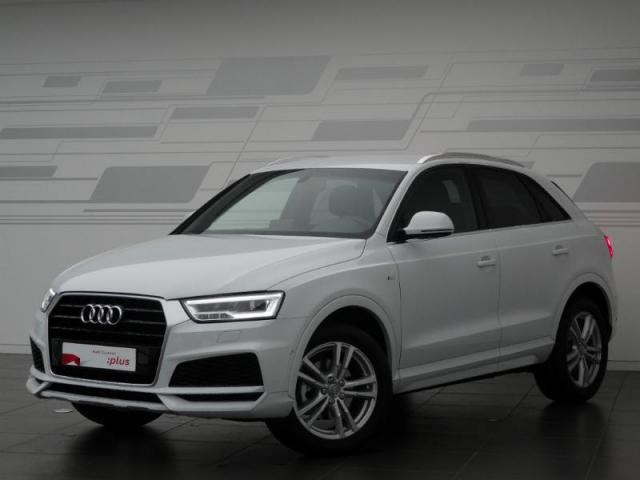 voiture occasion audi q3 2 0 tdi 150ch s line s tronic 7 2017 diesel 28630 nogent le phaye eure. Black Bedroom Furniture Sets. Home Design Ideas