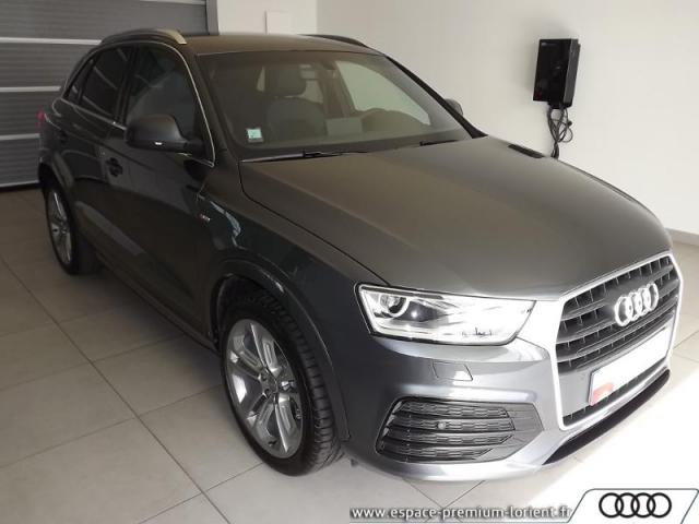 voiture occasion audi q3 2 0 tdi 150ch ultra s line 2018 diesel 56600 lanester morbihan. Black Bedroom Furniture Sets. Home Design Ideas