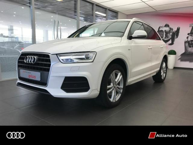 voiture occasion audi q3 2 0 tdi 150ch ultra s line 2015 diesel 22300 lannion c tes d 39 armor. Black Bedroom Furniture Sets. Home Design Ideas