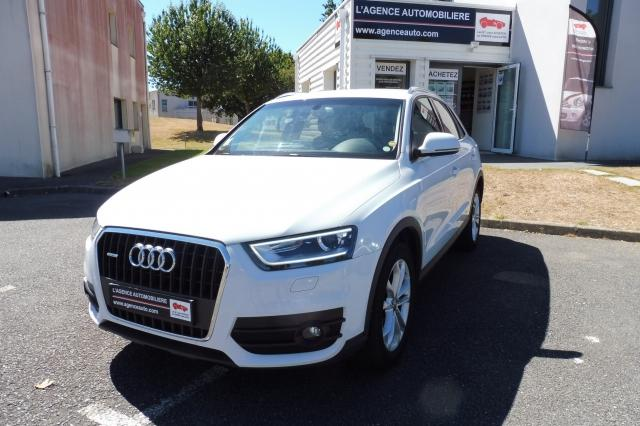 voiture occasion audi q3 2 0 tdi ambition luxe 2012 diesel 56000 vannes morbihan votreautofacile. Black Bedroom Furniture Sets. Home Design Ideas