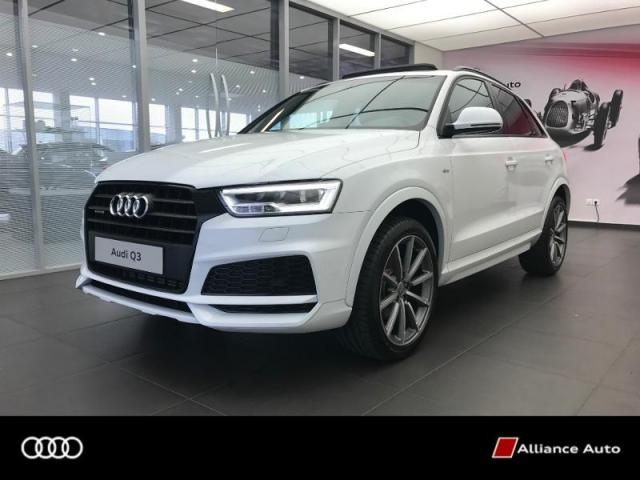 voiture occasion audi q3 2 0 tfsi 180ch s line quattro s tronic 7 2017 essence 22300 lannion. Black Bedroom Furniture Sets. Home Design Ideas