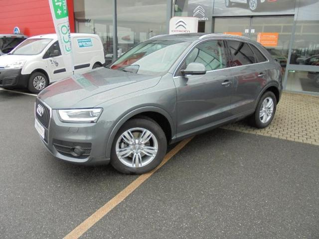 voiture occasion audi q3 tdi 140 ambition luxe options. Black Bedroom Furniture Sets. Home Design Ideas