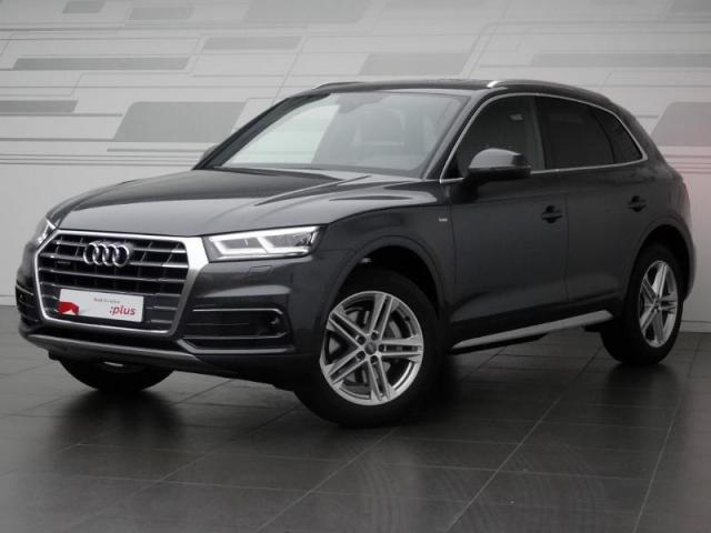 voiture occasion audi q5 2 0 tdi 190ch s line quattro s tronic 7 2017 diesel 28630 nogent le. Black Bedroom Furniture Sets. Home Design Ideas