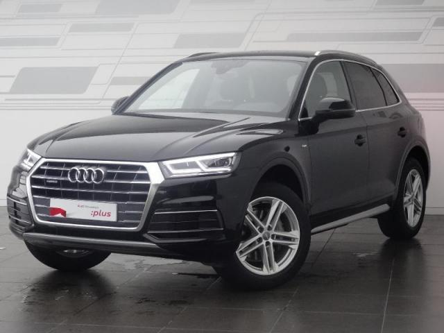 voiture occasion audi q5 2 0 tdi 190ch s line quattro s tronic 7 2018 diesel 28630 nogent le. Black Bedroom Furniture Sets. Home Design Ideas