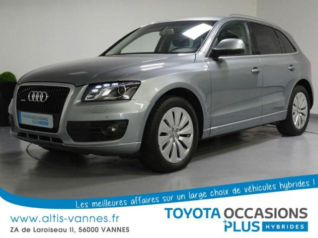 voiture occasion audi q5 2 0 tfsi 245ch hybrid avus quattro tiptronic 2012 hybride 56000 vannes. Black Bedroom Furniture Sets. Home Design Ideas