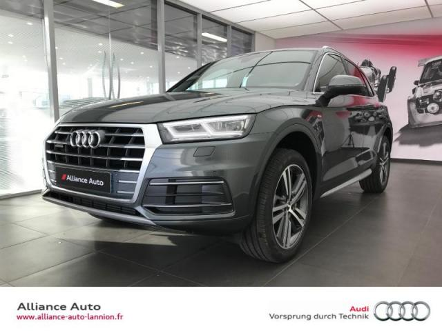 voiture occasion audi q5 2 0 tfsi 252ch s line quattro s tronic 7 2017 essence 22300 lannion. Black Bedroom Furniture Sets. Home Design Ideas