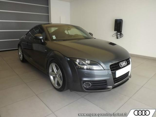 voiture occasion audi tt 1 8 tfsi 160ch s line s tronic 7 2013 essence 56600 lanester morbihan. Black Bedroom Furniture Sets. Home Design Ideas
