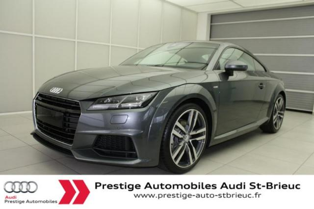 Voiture occasion audi tt 2 0 tfsi 230ch s line quattro s for Garage automobile saint brieuc