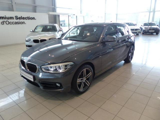 voiture occasion bmw serie 1 116i 109ch sport 5p 2016 essence 56000 vannes morbihan. Black Bedroom Furniture Sets. Home Design Ideas