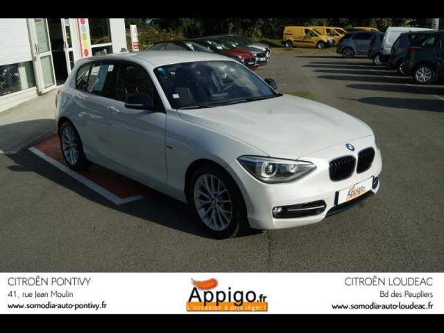 voiture occasion bmw serie 1 120d xdrive 184ch sport 5p 2013 diesel 56300 pontivy morbihan. Black Bedroom Furniture Sets. Home Design Ideas