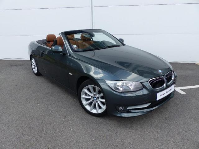 voiture occasion bmw serie 3 cabriolet 325d 204ch luxe 2010 diesel 56000 vannes morbihan. Black Bedroom Furniture Sets. Home Design Ideas