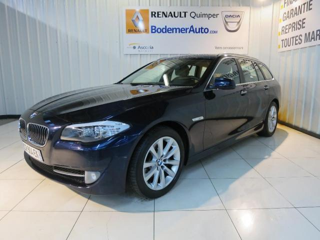 voiture occasion bmw serie 5 520d 184ch 133g executive a 2013 diesel 29000 quimper finist re. Black Bedroom Furniture Sets. Home Design Ideas