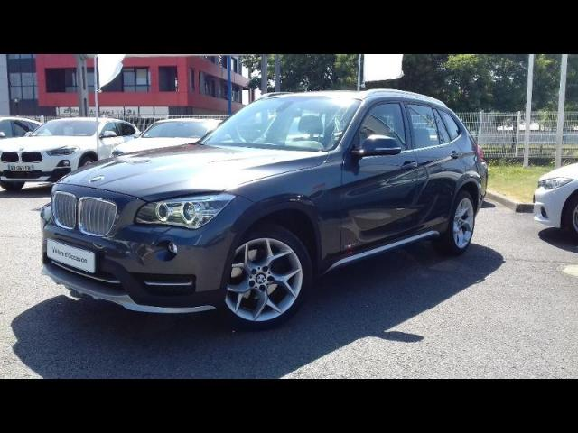 voiture occasion bmw x1 sdrive18da 143ch xline 2014 diesel 56100 lorient morbihan votreautofacile. Black Bedroom Furniture Sets. Home Design Ideas