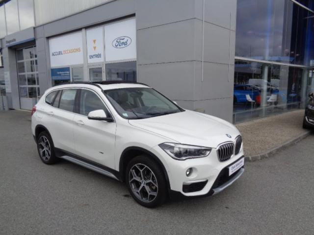 Voiture occasion bmw x1 sdrive18ia 136ch xline 2016 for Garage vente voiture occasion ille et vilaine