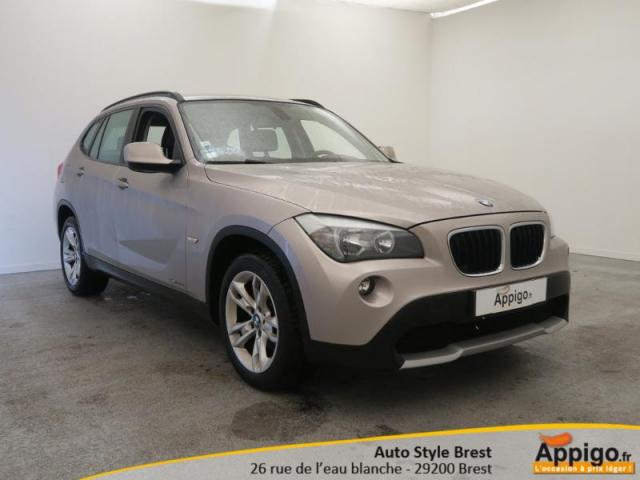 voiture occasion bmw x1 sdrive20d 177ch confort 2011 diesel 29200 brest finist re votreautofacile. Black Bedroom Furniture Sets. Home Design Ideas