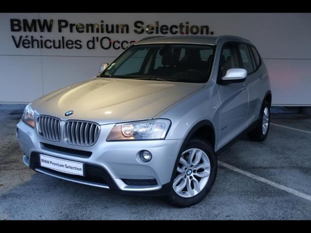 voiture occasion bmw x3 xdrive30da 258ch confort 2011 diesel 29000 quimper finist re. Black Bedroom Furniture Sets. Home Design Ideas