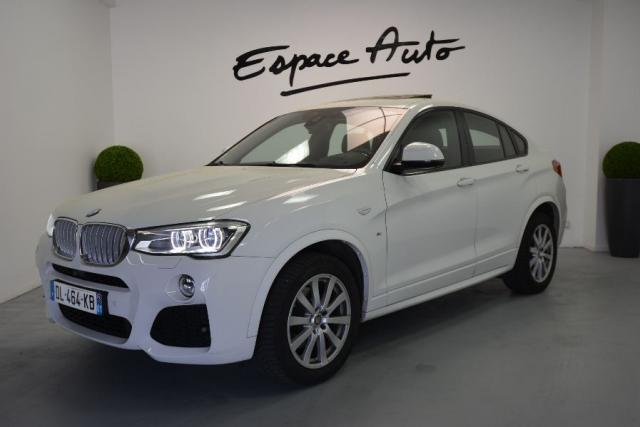 voiture occasion bmw x4 f26 xdrive35da 313ch m sport 2014 diesel 29000 quimper finist re. Black Bedroom Furniture Sets. Home Design Ideas