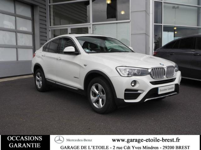 voiture occasion bmw x4 xdrive20da 190ch xline 2015 diesel. Black Bedroom Furniture Sets. Home Design Ideas