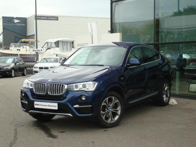 voiture occasion bmw x4 xdrive20da 190ch xline 2016 diesel. Black Bedroom Furniture Sets. Home Design Ideas