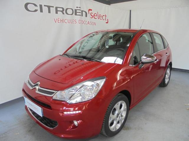 Voiture occasion citroen c3 1 4 hdi70 feel edition 2015 for Voiture occasion garage citroen evreux