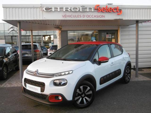 voiture occasion citroen c3 bluehdi 100 feel edition 2016 diesel 56850 caudan morbihan. Black Bedroom Furniture Sets. Home Design Ideas
