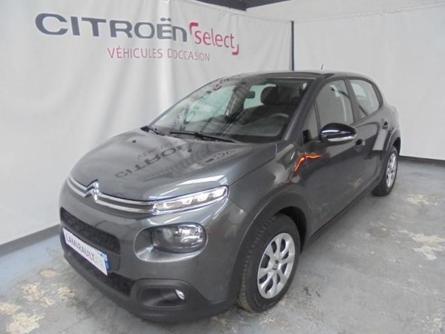 Voiture occasion citroen c3 bluehdi 75ch feel s s 2017 for Voiture occasion garage citroen evreux