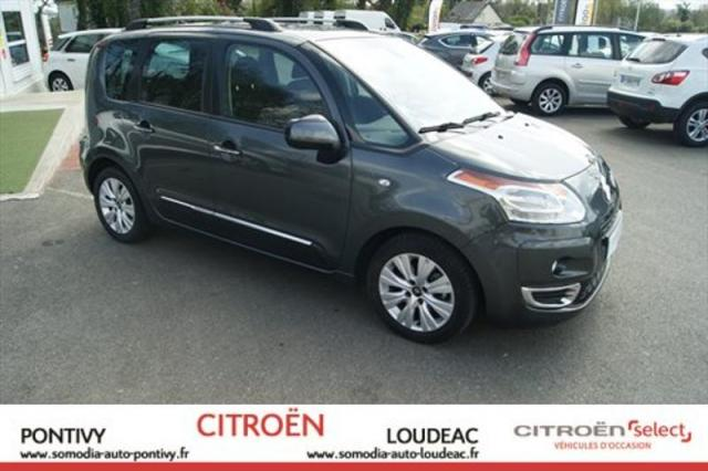 voiture occasion citroen c3 picasso 1 6 hdi110 exclusive bvm6 2012 diesel 56300 pontivy morbihan. Black Bedroom Furniture Sets. Home Design Ideas