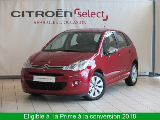 voiture occasion citroen c3 puretech 82 feel edition 2016 essence 28500 vernouillet eure et loir. Black Bedroom Furniture Sets. Home Design Ideas
