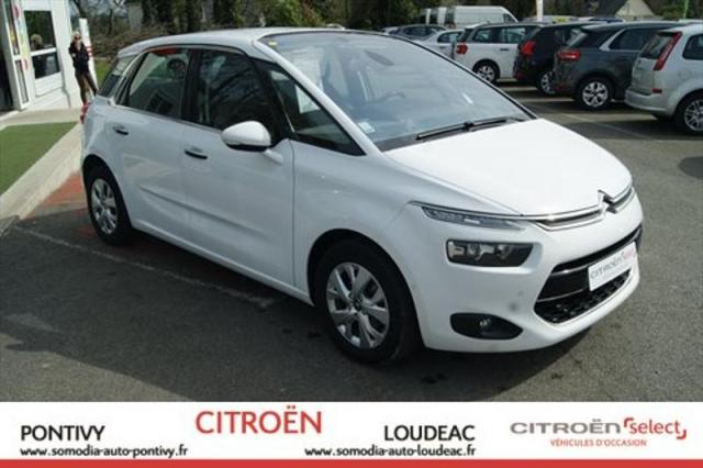 voiture occasion citroen c4 picasso e hdi 115ch intensive 2014 diesel 56300 pontivy morbihan. Black Bedroom Furniture Sets. Home Design Ideas