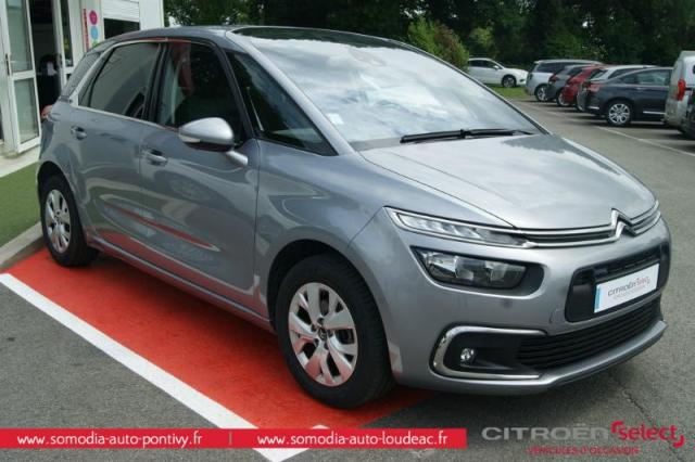 voiture occasion citroen c4 picasso puretech 130ch feel s s 2016 essence 56300 pontivy morbihan. Black Bedroom Furniture Sets. Home Design Ideas