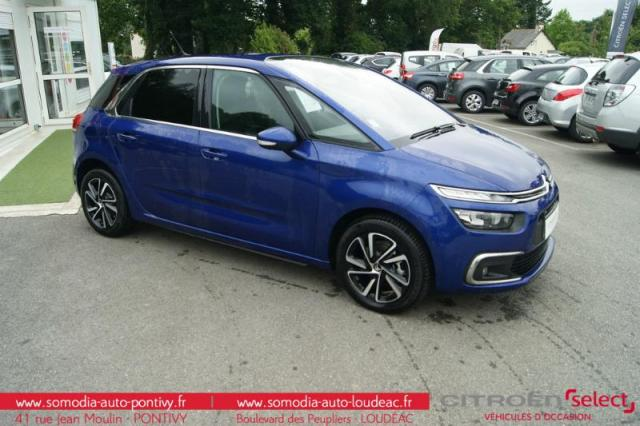 voiture occasion citroen c4 picasso puretech 130ch feel s s 2017 essence 56300 pontivy morbihan. Black Bedroom Furniture Sets. Home Design Ideas