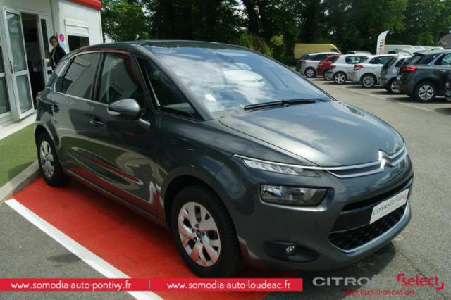 voiture occasion citroen c4 picasso puretech 130ch. Black Bedroom Furniture Sets. Home Design Ideas
