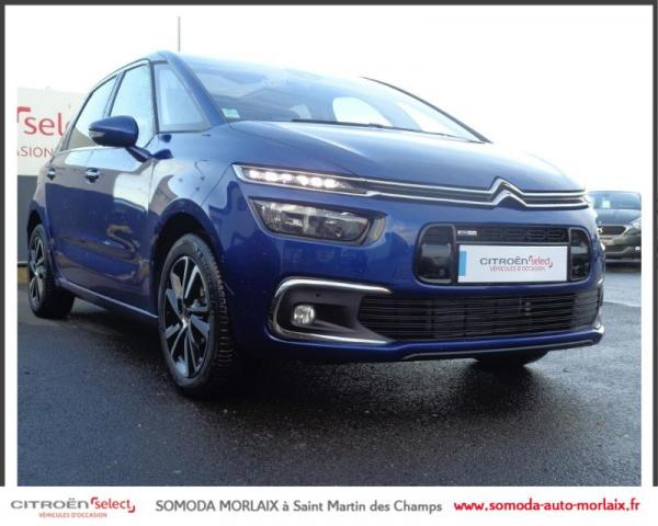 voiture occasion citroen c4 picasso puretech 130ch shine s s eat6 2017 essence 29600 morlaix. Black Bedroom Furniture Sets. Home Design Ideas