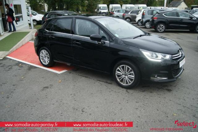 voiture occasion citroen c4 puretech 130ch millenium s s 2017 essence 56300 pontivy morbihan. Black Bedroom Furniture Sets. Home Design Ideas