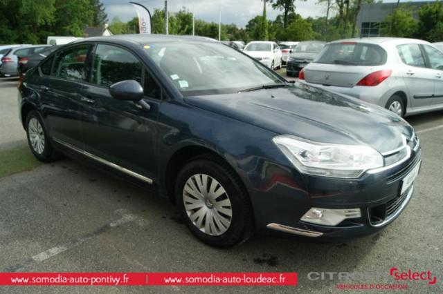 voiture occasion citroen c5 1 6 hdi110 fap confort 2009 diesel 56300 pontivy morbihan. Black Bedroom Furniture Sets. Home Design Ideas