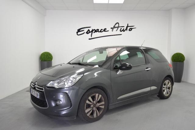 voiture occasion citroen ds3 1 6 e hdi90 92 airdream so chic 5cv 2012 diesel 29000 quimper. Black Bedroom Furniture Sets. Home Design Ideas