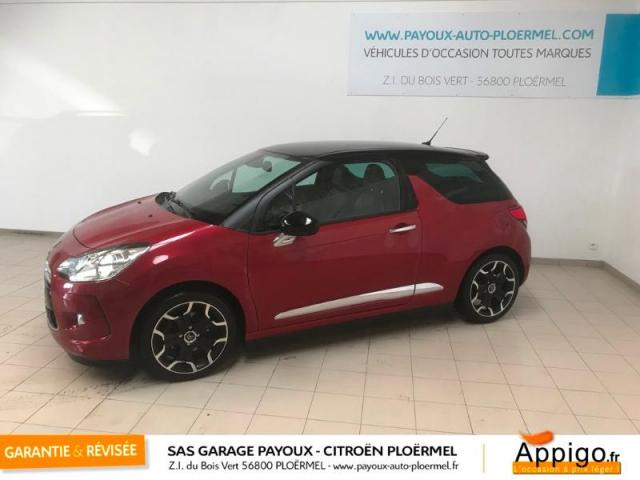 voiture occasion citroen ds3 1 6 thp 155ch sport chic 2012. Black Bedroom Furniture Sets. Home Design Ideas