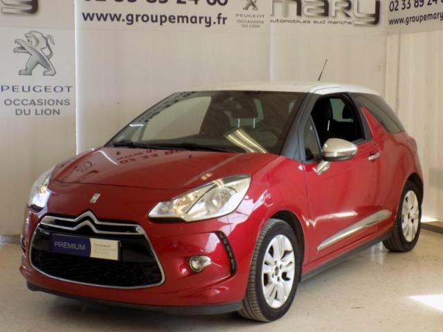 voiture occasion citroen ds3 e hdi 90ch so chic 2014 diesel 50300 avranches manche votreautofacile. Black Bedroom Furniture Sets. Home Design Ideas