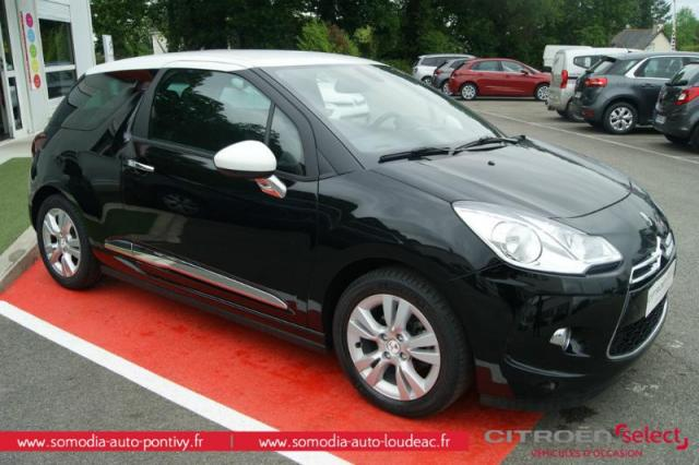 voiture occasion citroen ds3 e hdi 90ch so chic 2015. Black Bedroom Furniture Sets. Home Design Ideas