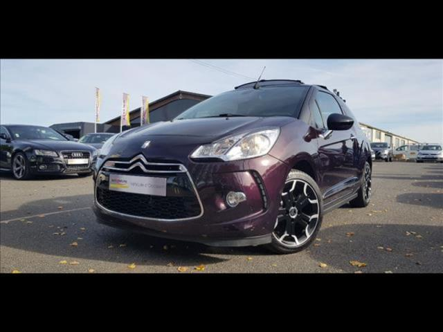voiture occasion citroen ds3 vti 120ch so chic 2014 essence 14200 herouville st clair calvados. Black Bedroom Furniture Sets. Home Design Ideas
