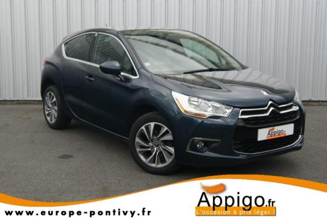 voiture occasion citroen ds4 1 6 e hdi115 airdream so chic 2012 diesel 56300 pontivy morbihan. Black Bedroom Furniture Sets. Home Design Ideas
