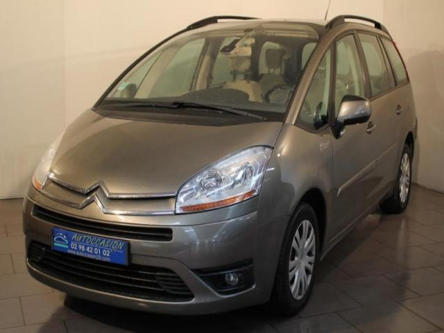 voiture occasion citroen grand c4 picasso 1 6 hdi 110 bmp6 airdream pack ambiance 2009 diesel. Black Bedroom Furniture Sets. Home Design Ideas