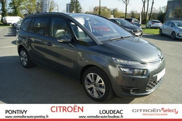 voiture occasion citroen grand c4 picasso bluehdi 150ch exclusive s s eat6 2016 diesel 56300. Black Bedroom Furniture Sets. Home Design Ideas